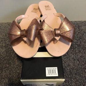 Mel Harmonic Bow Sandal Pink 13